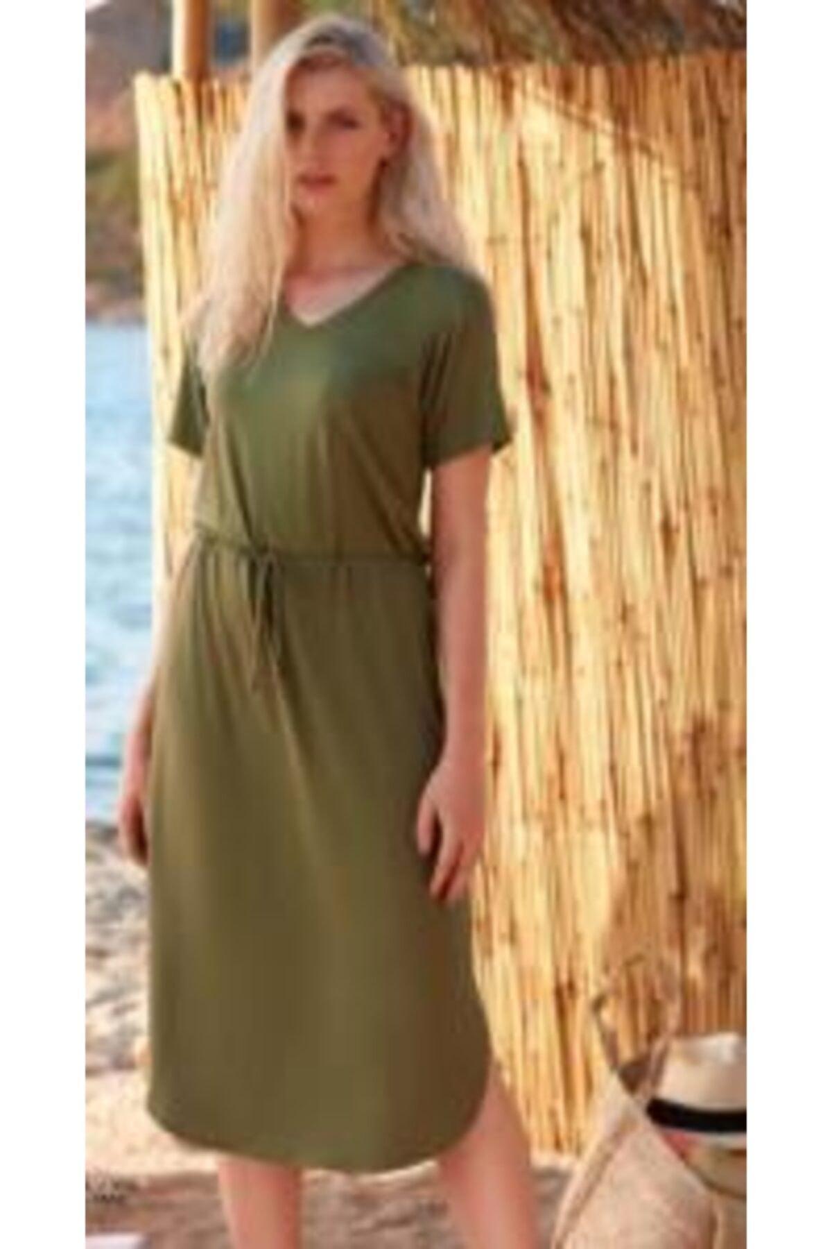 Penyemood Kadın Yeşil Etektakım  8716 1