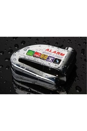 Arzu / Monero Alarmlı Disk Kilidi | Çelik Gövde | Yüksek Ses | Anti-theft Pro Shock Sensör [siyah]
