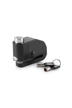 Arzu / Monero Alarmlı Disk Kilidi | Çelik Gövde | Müthiş Ses | Gömme Anahtarlı
