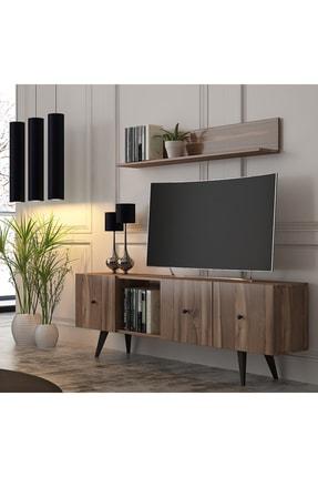 Cool Home Ceviz Tarz Tv Ünitesi 160 cm