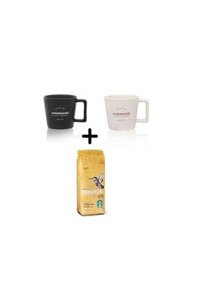 Starbucks Filtre Kahve Fincanı Seti + Starbucks Veranda Çekirdek Filtre Kahve 250 g