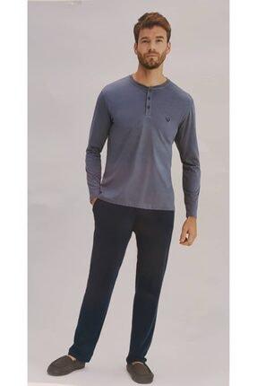 Eros Ese27152 Erkek O Yaka Patlı Uk. Pijama Takım 21k