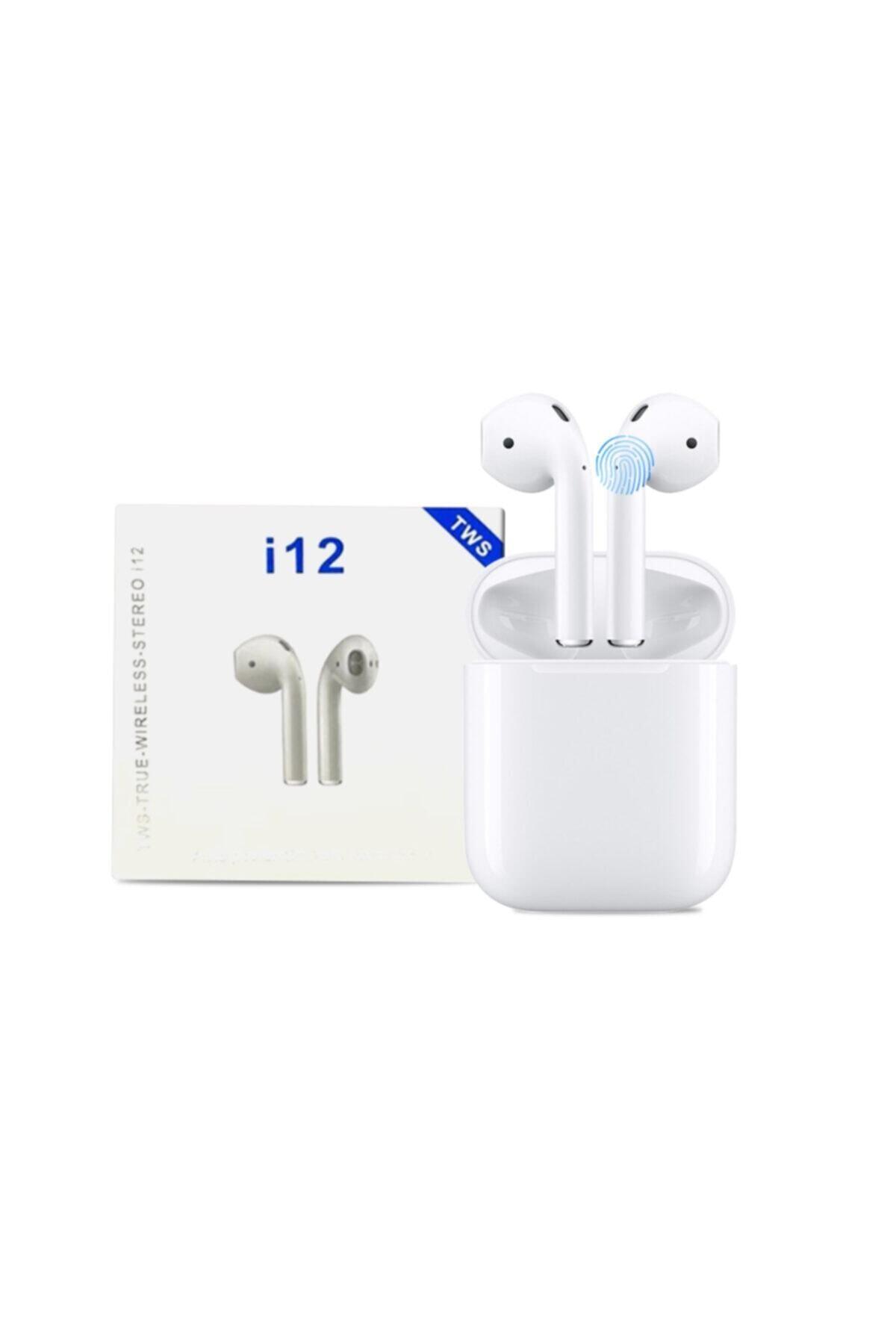 Tws Airpods I12 Bluetooth V5.0 Kablosuz Kulaklık I12 Iphone Bluetooth Kulaklık Hd Ses Kalitesi 1