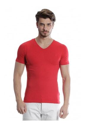 Mcr Erkek Kırmızı Basic Tshirt