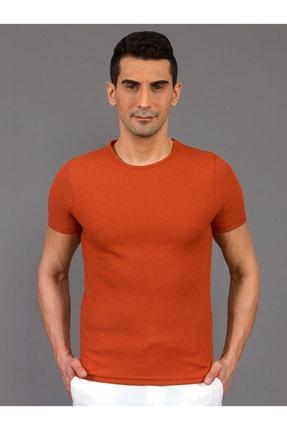 Mcr Erkek Turuncu Slimfit T-shirt