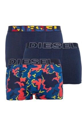 Diesel Erkek Lacivert 3'Lü Boxer
