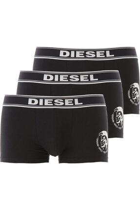 Diesel Erkek Siyah Boxer 3'Lü