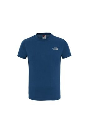 THE NORTH FACE Unisex Çocuk Mavi T-Shirt