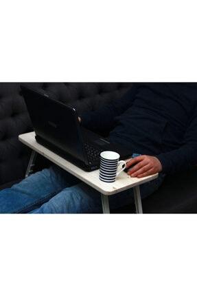 Ceebebek Ahşap Bilgisayar Masası Mouse Pad Yemek Ödev Boyama Koltuk Sehpası Kucak Tepsisi Yan Sehpa