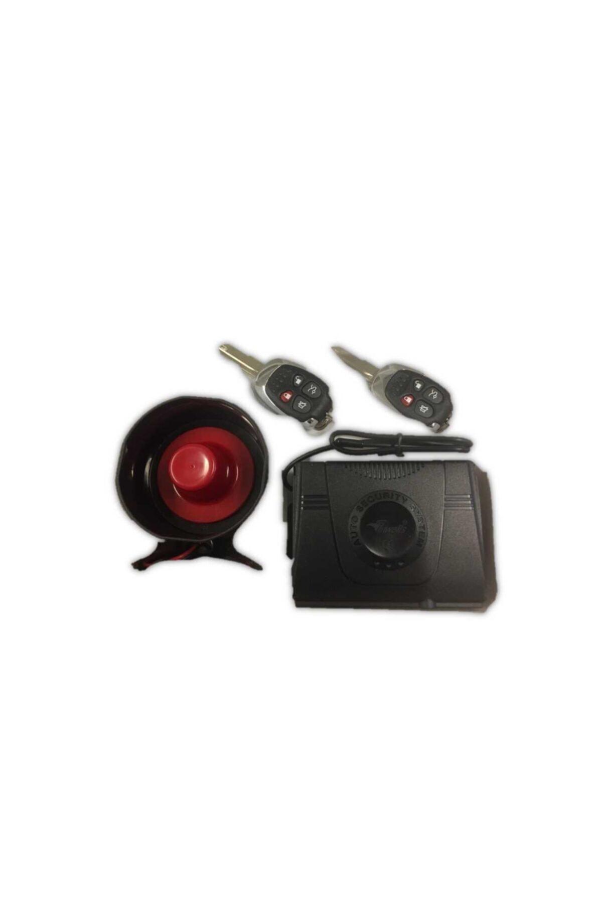 Inwells Oto Alarmı Komple Set 12v Kumanda Modeli: 3323 1