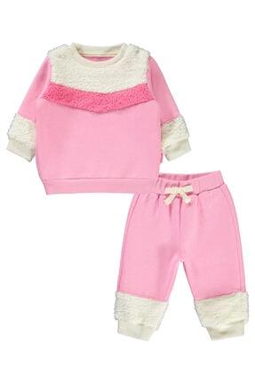 Kujju Kız Bebek Pembe Takım