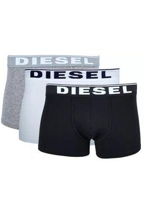 Diesel Erkek Beyaz Boxer 3'Lü