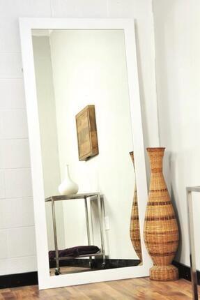 LYN HOME & DECOR Beyaz Çerçeveli Boy Aynası 56 X 150 Cm