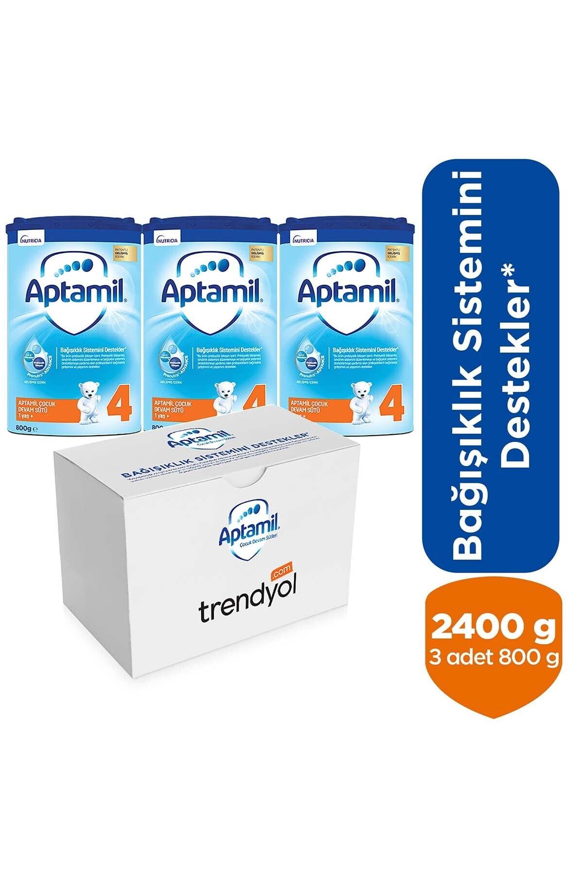 Aptamil 4 Çocuk Devam Sütü 2400g 1 Yaş+ (3 X 800g Akıllı Kutu) 1