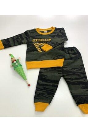 HAKSAL GÜMÜŞÇÜLÜK Kamuflaj Erkek Çocuk Pijama Takımı