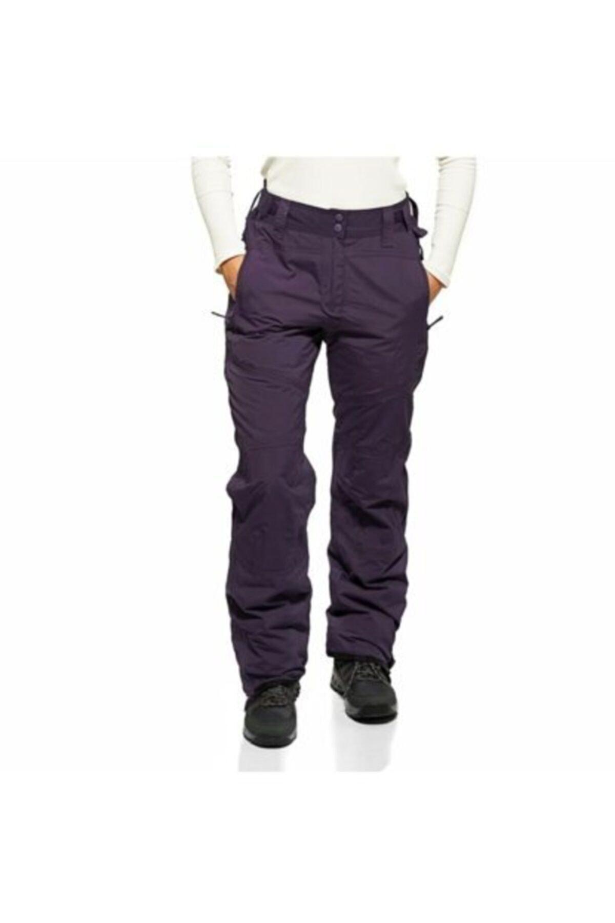 CRIVIT Kadın Mor Kayak Pantolonu 1