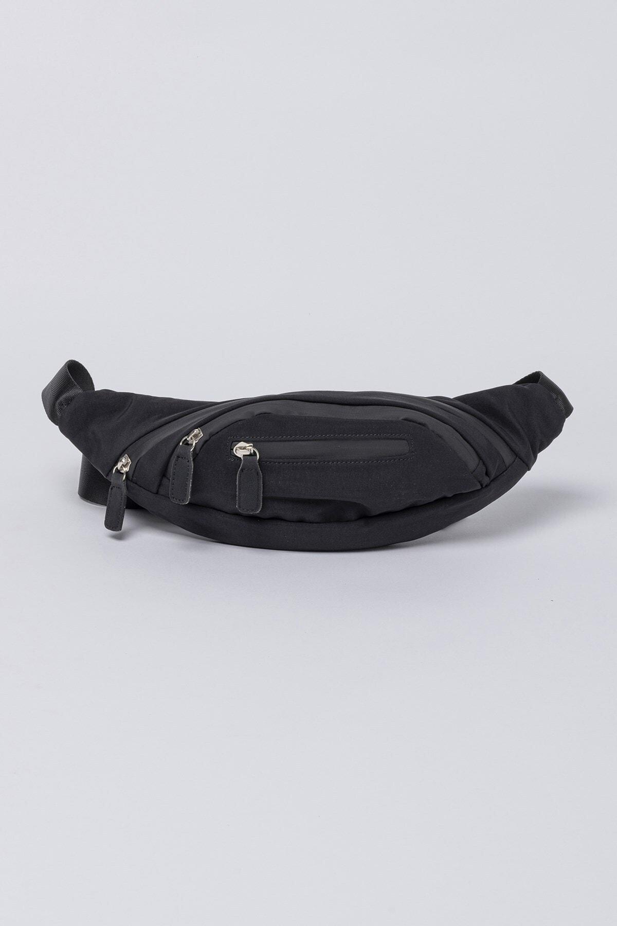 Jacquline Kadın Siyah Belty Bel Çantası 1