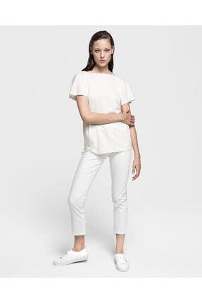 Gant Kadın Regular Fit Krem Rengi Bluz 7521