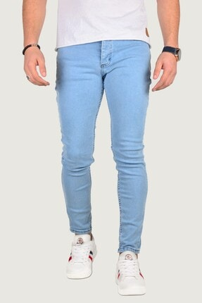 Terapi Men Erkek Buz Mavisi Kot Pantolon