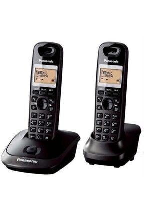 PANASONIC Kx-tg2512 Duo Dect Telefon (1+1 El Cihazlı) Füme