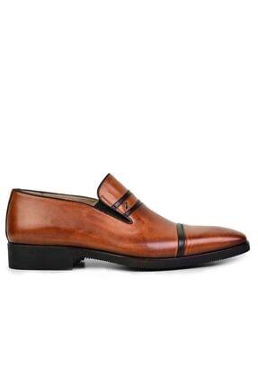 Nevzat Onay Hakiki Deri Taba Günlük Loafer Erkek Ayakkabı -8165-