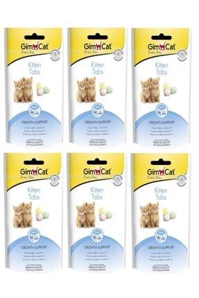 Gimcat Kitten Tabs 6 Adet Yavru Kedi Ödül 40 Gr Arda061