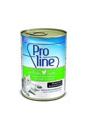 Pro Line Proline Tavuklu Kedi Konservesi 415 Gr X 6 Adet Yaş Mama