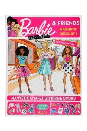 DIY Toys Barbie Manyetik Kıyafet Giydime