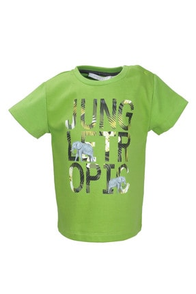 Zeyland Yeşil Tropic Jungle T-shirt