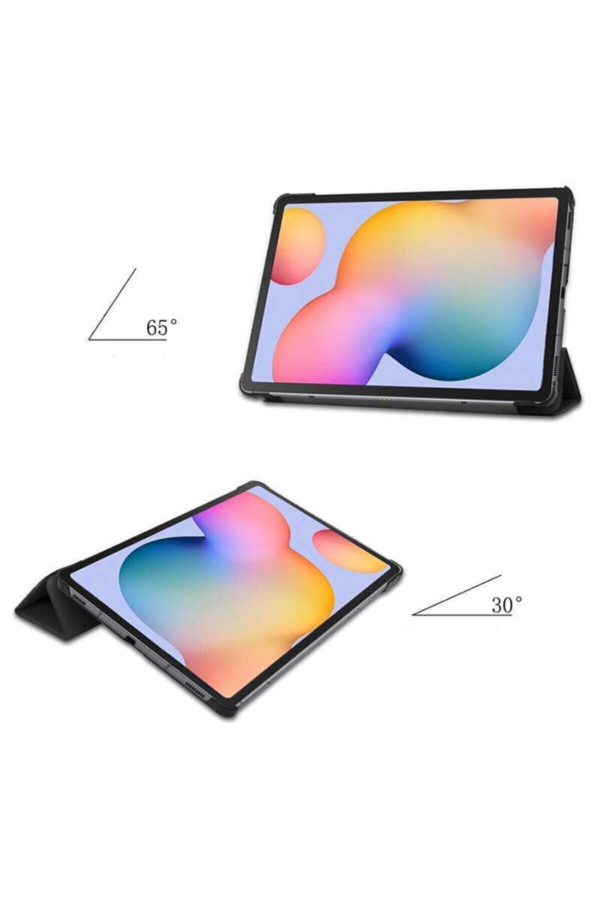 zore Samsung Galaxy Tab A7 10.4 (2020) Sm-t500 Uyku Modlu Mıknatıslı Kapak Smart Kılıf 2