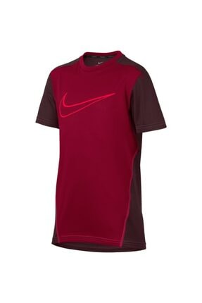 Nike Erkek Çocuk Bordo Tişört 892514-618 B Nk Dry Top Ss