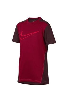 Nike Erkek Çocuk Bordo Tişört 892514-618 -B Nk Dry Top Ss
