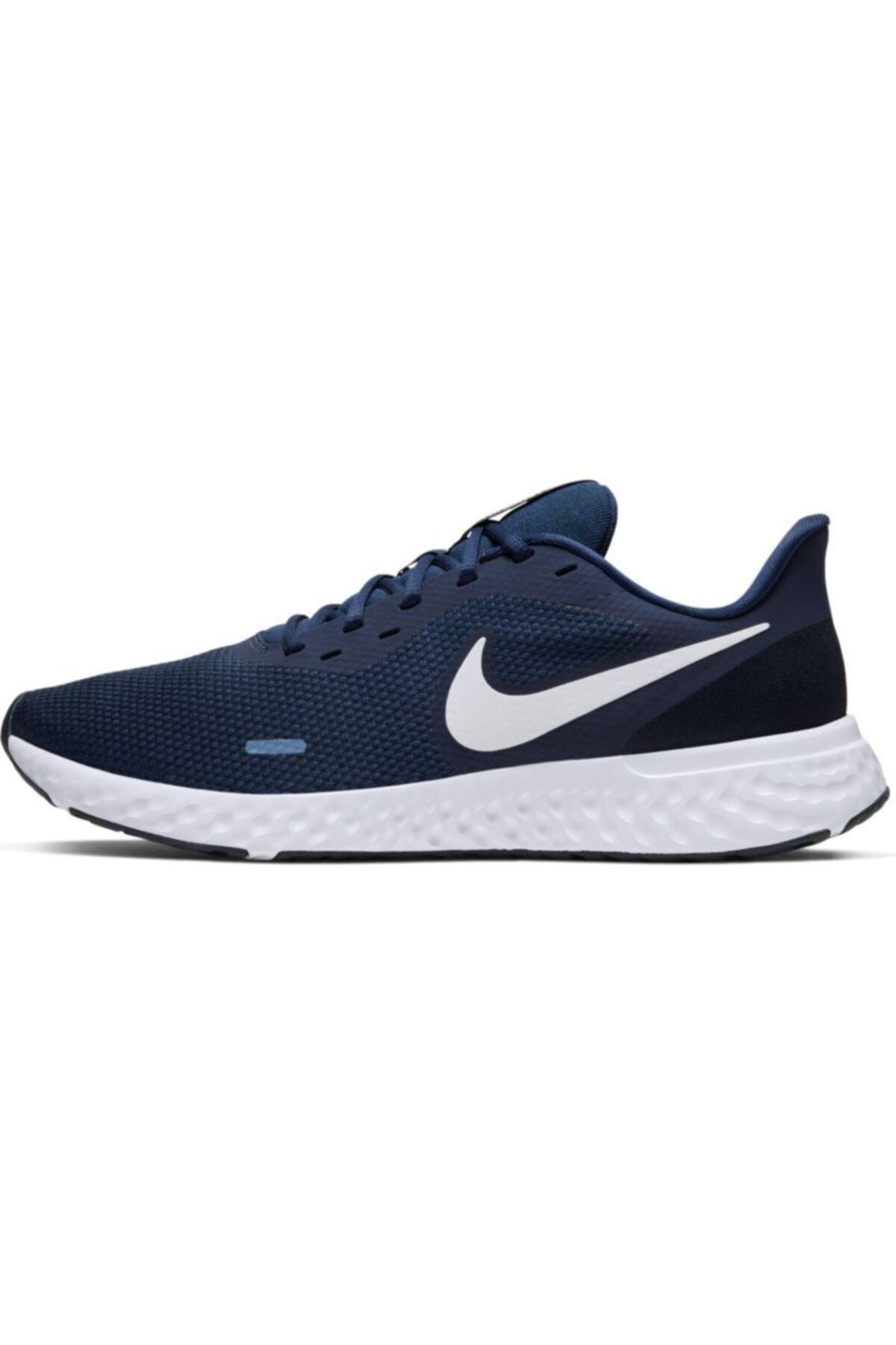 Nike Erkek Lacivert Revolutıon 5 Spor Ayakkabı Bq3204-400 2