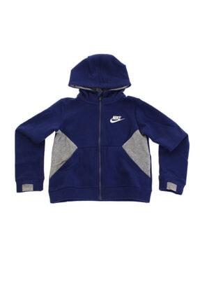 Nike Erkek Çocuk Lacivert Nsw Club Fleece Po Hoodıe Ceket 76d613-u9j