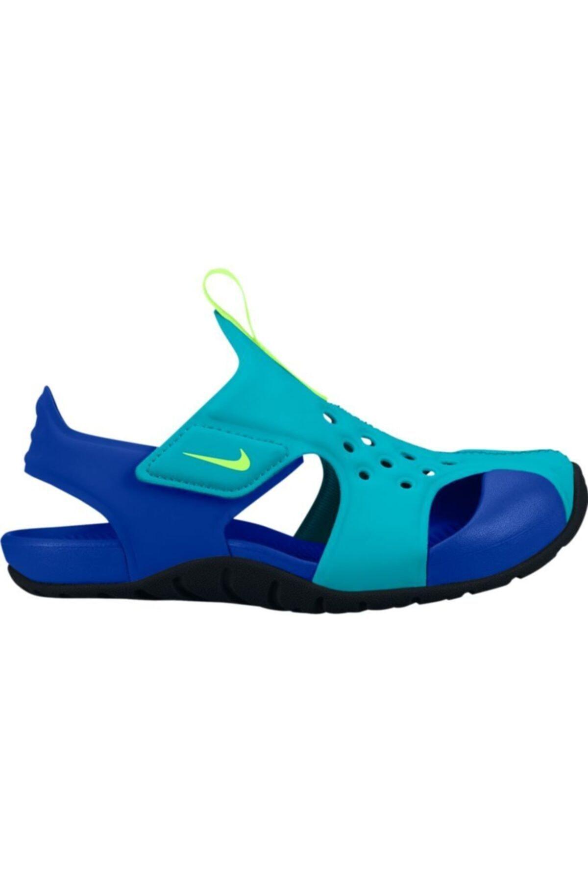 Nike Çocuk Yeşil Sunray Protect 2 Sandalet 943826-303 1