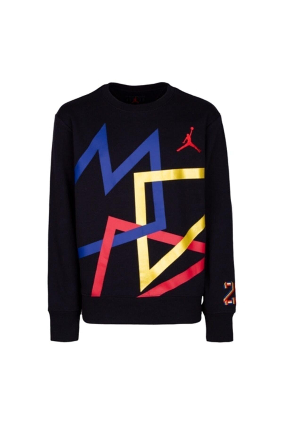 Nike Erkek Çocuk Siyah Jordan Sport Dna IıSweatshırt 95a046-023 1
