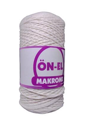 platin hediyelik Krem Renk Pamuklu Ince Makrome Ipi Cotton Iplik No 7