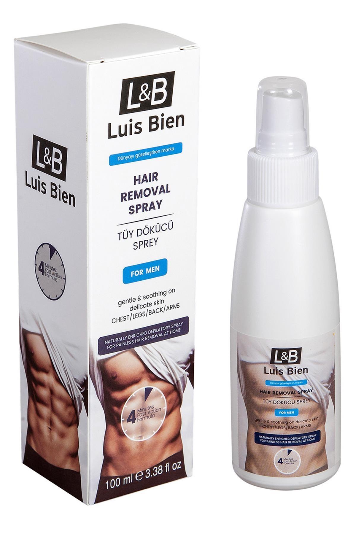 Luis Bien Erkekler için Tüy Dökücü Sprey 8681529831805