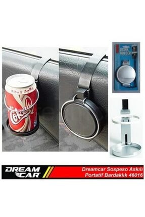 Dreamcar Sospeso Bardaklık Gümüş 46016