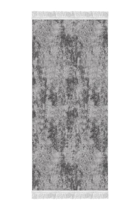 colizon Dekoratif Yıkanabilir Kaymaz Tabanlı Halı Kds-2092antrasıt-80x300