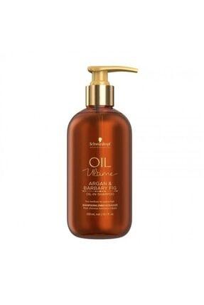 SCHWARZKOPF HAIR MASCARA Schwarzkopf Oil Ultime Argan Yağı & Frenk Inciri Şampuanı 300 Ml