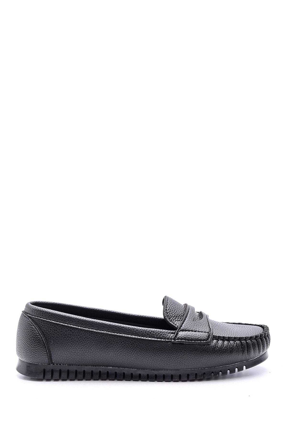 Derimod Kadın Siyah Loafer 1