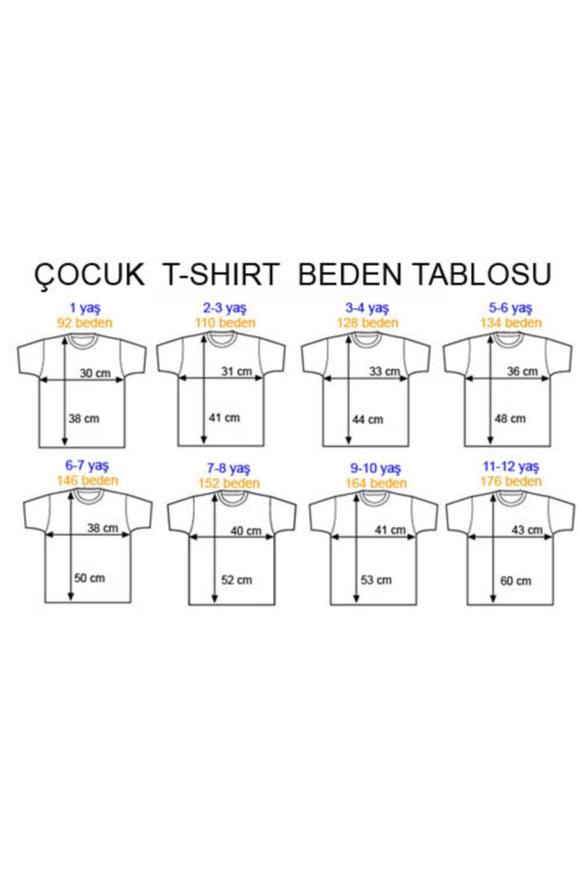 ABC Erkek Beyaz 13 Baskılı T-shirt 2