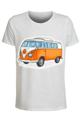 ABC Erkek Beyaz 14 Baskılı T-shirt