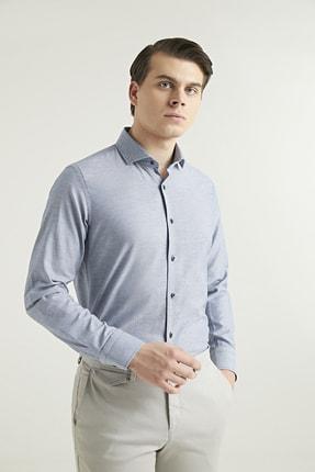 D'S Damat Slim Fit Lacivert Renk Erkek Gömlek 2HF02ORT3185_101