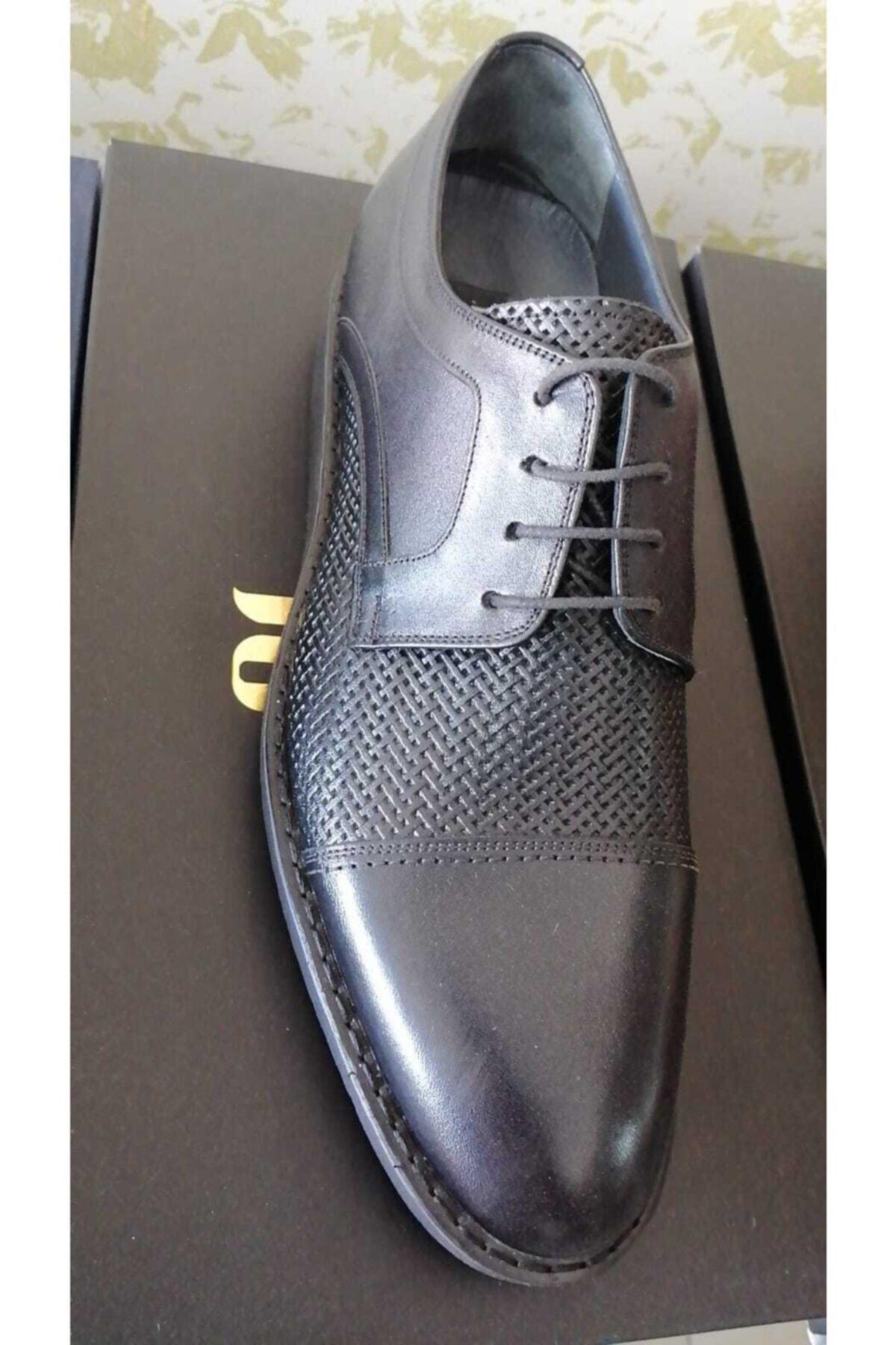 Ece Erkek Siyah Casual Ayakkabı 1