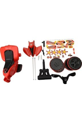 UJ Toys Akülü Atv Motor 6 Volt Bisiklet Kırmızı