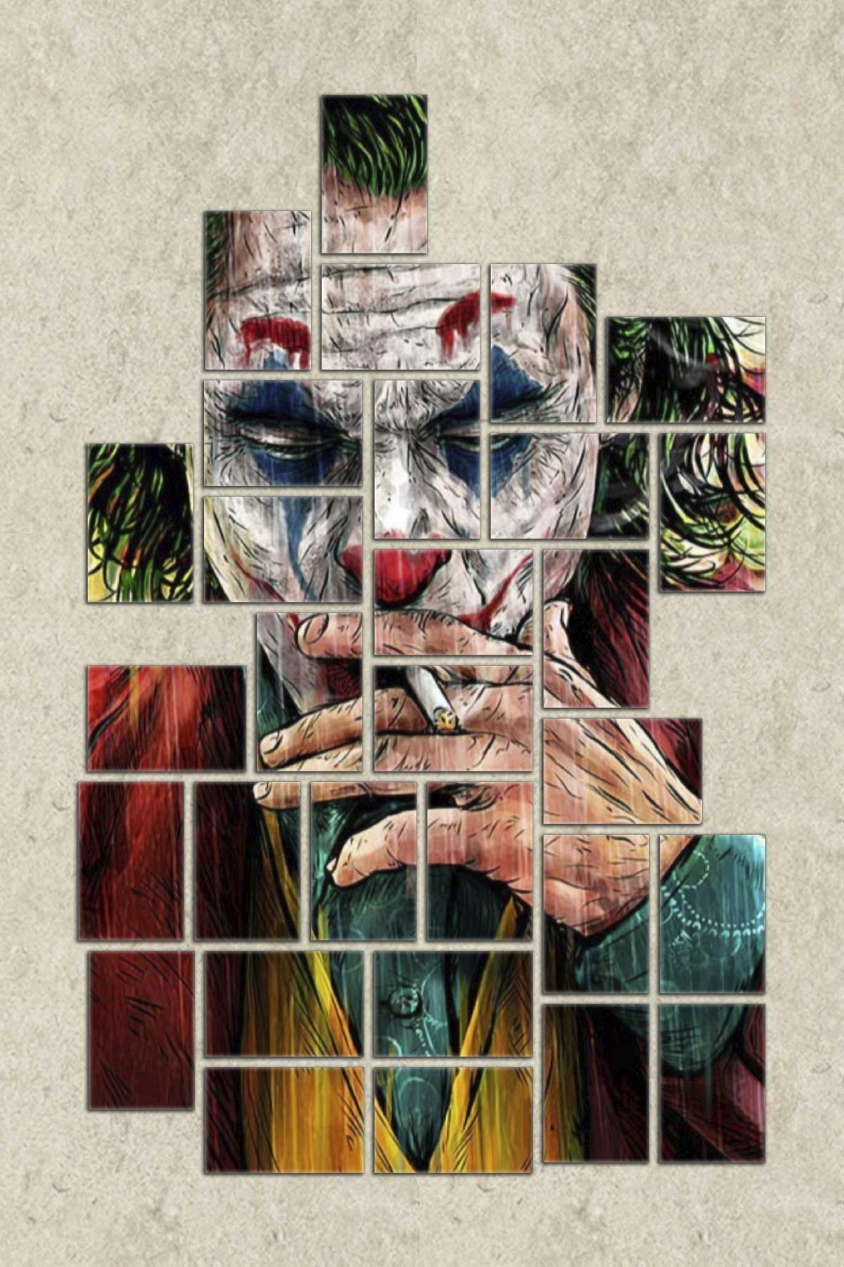 Dekolia 30 Parça Puzzle Mdf Tablo Seti Joker Pzldkl-108 2