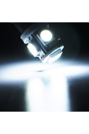 Space Led Ampul Dipsiz T10 5smd Beyaz 2'li Set 24v