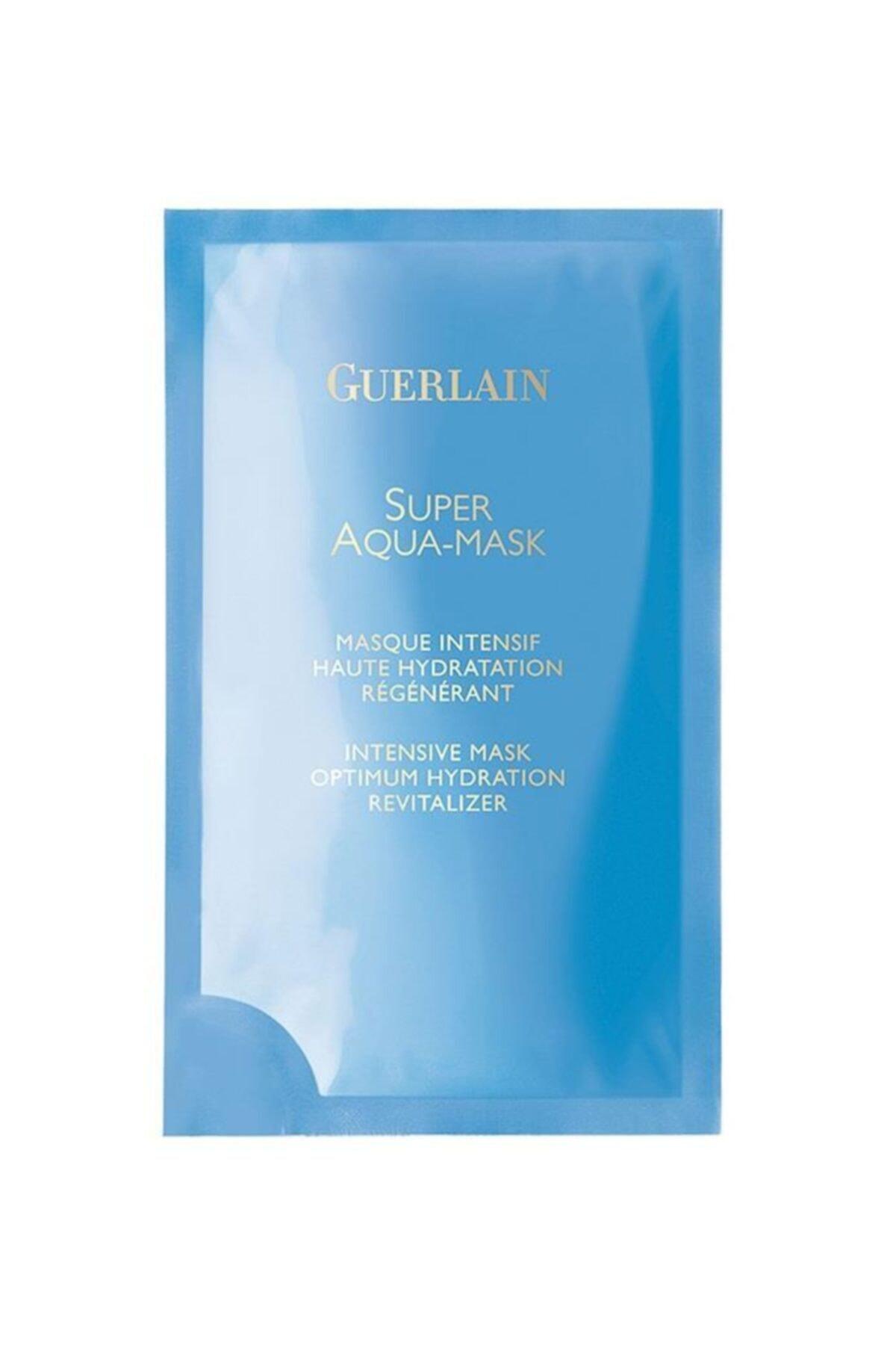 Guerlain Super Aqua Mask Intensive 6 Yaprak Yüz Maskesi 1